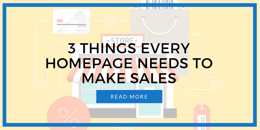 3 Things Your Online Store 39 S Homepage Should Include