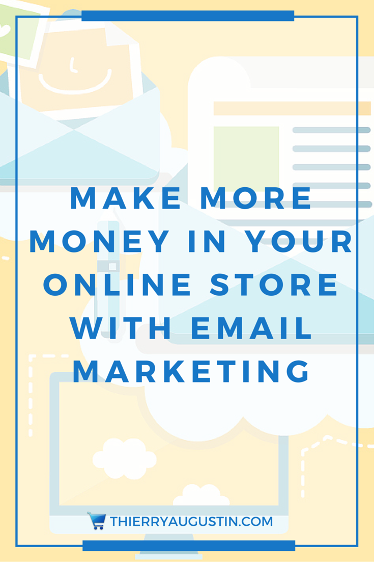 Online Store | Online Shop | How to make more money | How to get more sales | Ecommerce marketing tips | Business Strategist |Email Marketing | List Building - Email marketing is the key to making more money in your online store.