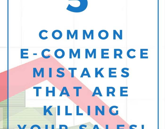 Online Store | Online Shop | How to make more money | How to get more sales | Ecommerce marketing tips | Business Strategist |Email Marketing | List Building - No or low Sales in your online store? Avoid these 5 common e-commerce mistakes and you'll be well on your way to increasing brand resonance and, most importantly, boosting your revenue.