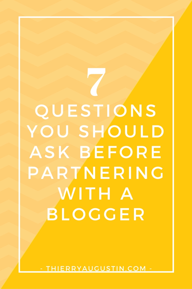 Online Store | Online Shop | How to make more money | How to get more sales | Ecommerce marketing tips | Business Strategist Here are 7 questions that every ecommerce store owner should ask themselves before partnering with a blogger/ embarking on an influencer marketing campaign
